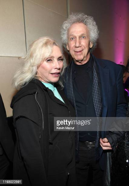 Debbie Harry and Bob Gruen attend The Rainforest Fund 30th Anniversary Benefit Concert Presents 'We'll Be Together Again' After Party at Mandarin...