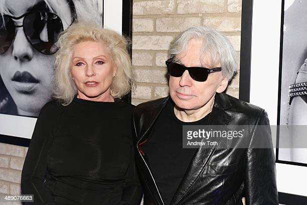 Debbie Harry and Chris Stein attend the 'Blondie 4 Ever' Exhibition Opening at Morrison Hotel Gallery on May 9 2014 in New York City