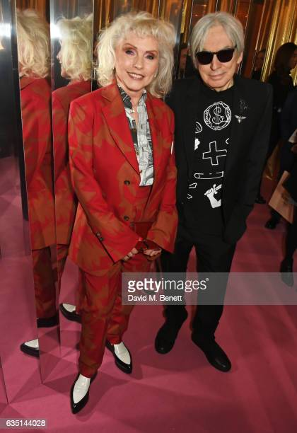 Debbie Harry and Chris Stein attend the Elle Style Awards 2017 on February 13 2017 in London England