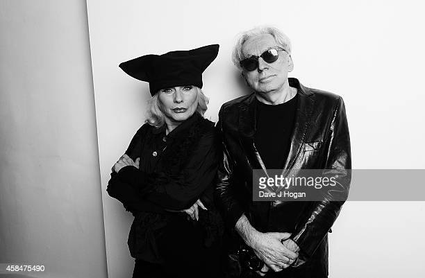 Debbie Harry and Chris Stein attend the private view of Chris Stein/Negative Me Blondie and the Advent of Punk at Somerset House on November 5 2014...