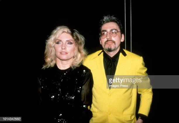 Debbie Harry and Chris Stein circa 1987 in New York