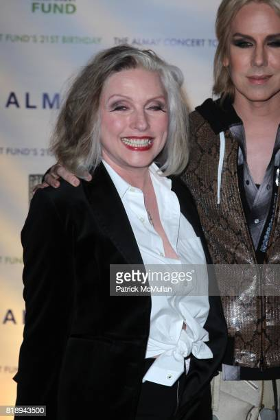 Debbie Harry and Lady Guy attend THE ALMAY CONCERT to Celebrate the RAINFOREST FUND'S 21st Birthday at The Plaza Hotel on May 13th 2010 in New York...