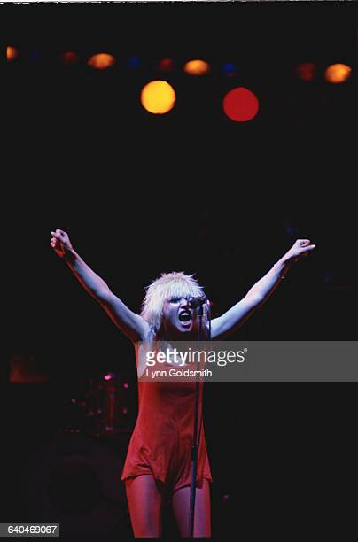 Debbie Harry at Central Park Performance