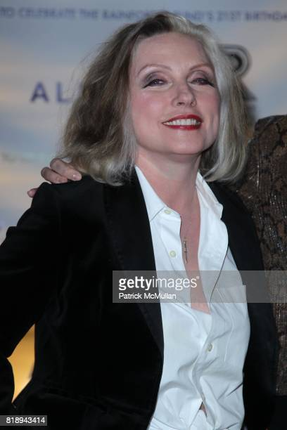 Debbie Harry attend THE ALMAY CONCERT to Celebrate the RAINFOREST FUND'S 21st Birthday at The Plaza Hotel on May 13th 2010 in New York City