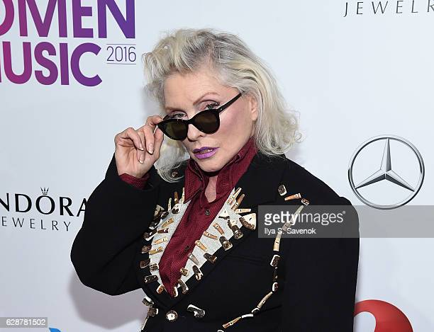 Debbie Harry attends Billboard Women In Music 2016 Airing December 12th On Lifetime at Pier 36 on December 9 2016 in New York City