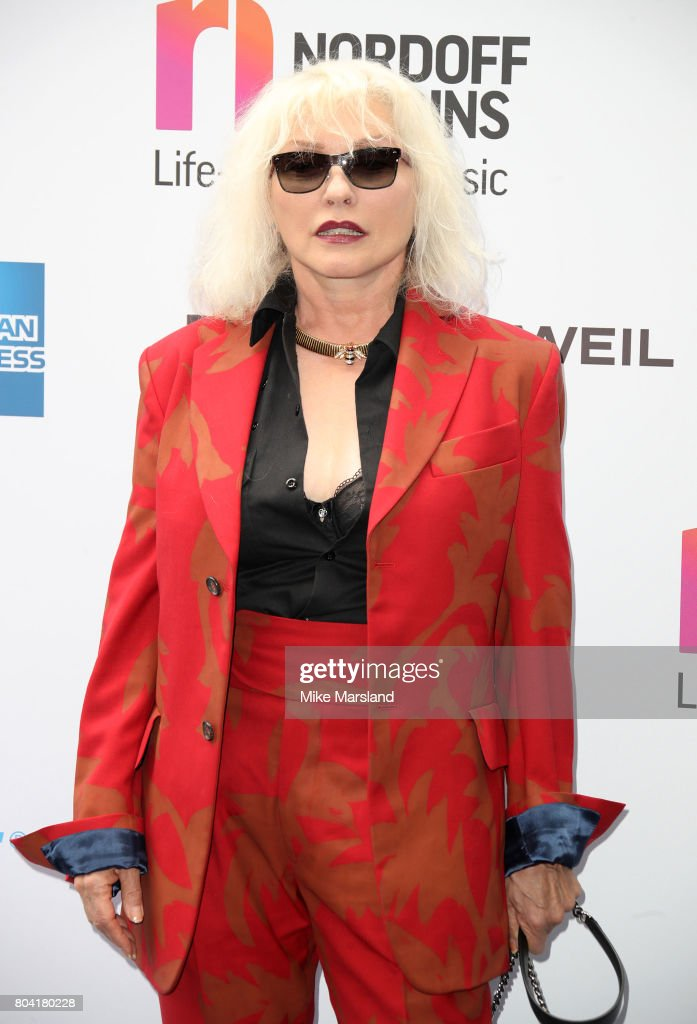 Debbie Harry attends Nordoff Robbins O2 Silver Clef awards at The Grosvenor House Hotel on June 30, 2017 in London, England.