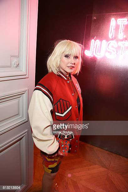 Debbie Harry attends Prom 2016 Party hosted by Coach for the Paris Flagship opening as part of the Paris Fashion Week Womenswear Fall/Winter...
