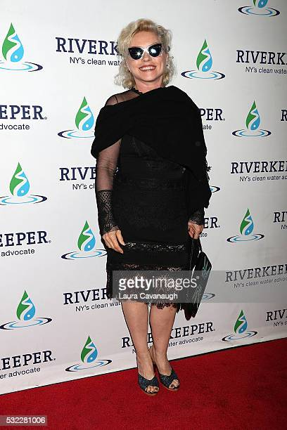 Debbie Harry attends Riverkeeper's 50th Anniversary Fishermen's Ball at Pier Sixty at Chelsea Piers on May 18 2016 in New York City