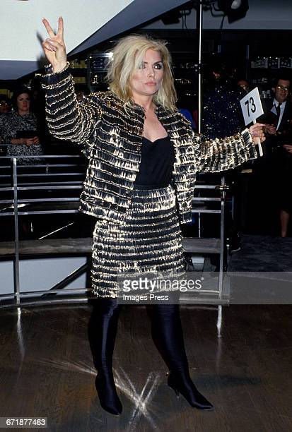 Debbie Harry attends the Celebrity Fashion Show Benefiting AIDS Patients of St Vincent Hospital at Barney's circa 1986 in New York City