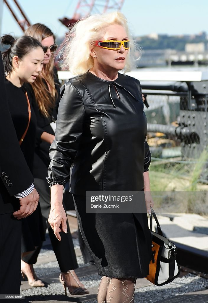 Debbie Harry attends the Coach show during New York Fashion Week 2016 on September 15, 2015 in New York City.