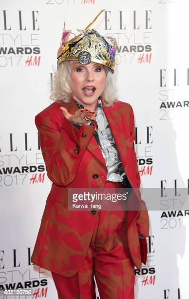 Debbie Harry attends the Elle Style Awards 2017 on February 13 2017 in London England