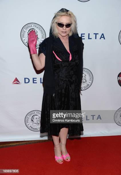 Debbie Harry attends The Friars Club Roast Honors Jack Black at New York Hilton and Towers on April 5 2013 in New York City