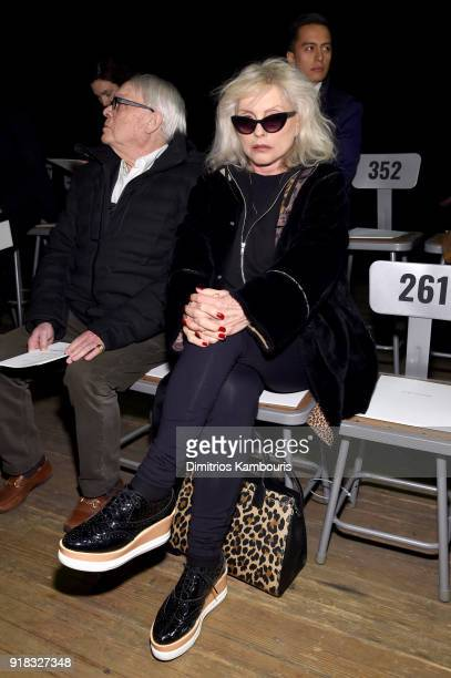 Debbie Harry attends the Marc Jacobs Fall 2018 Show at Park Avenue Armory on February 14 2018 in New York City