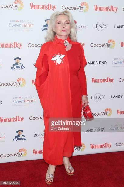 Debbie Harry attends Woman's Day Celebrates 15th Annual Red Dress Awards at Appel Room at Jazz at Lincoln Centerâ Frederick P Rose Hall on February 6...