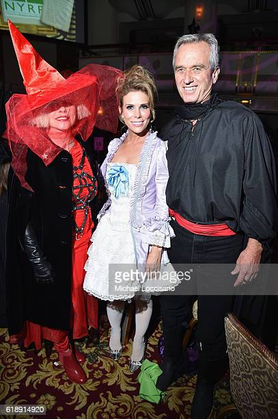Debbie Harry Cheryl Hines and Bobby Kennedy attend the 2016 Hulaween Party Celebrating New York Restoration Project's 21st Anniversary at The...