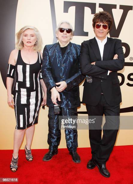 Debbie Harry Chris Stein Clem Burke of Blondie arrive to the 8th Annual TV Land Awards held at Sony Pictures Studios on April 17 2010 in Culver City...