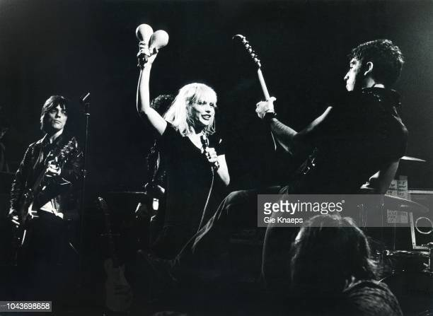 Debbie Harry Chris Stein Frank Infante Blondie Paradiso Amsterdam Netherlands 19th November 1977