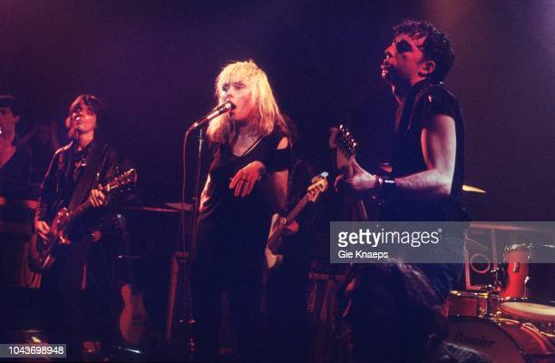 Debbie Harry Chris Stein Frank Infante Jimmy Destri Blondie Paradiso Amsterdam Netherlands 19th November 1977