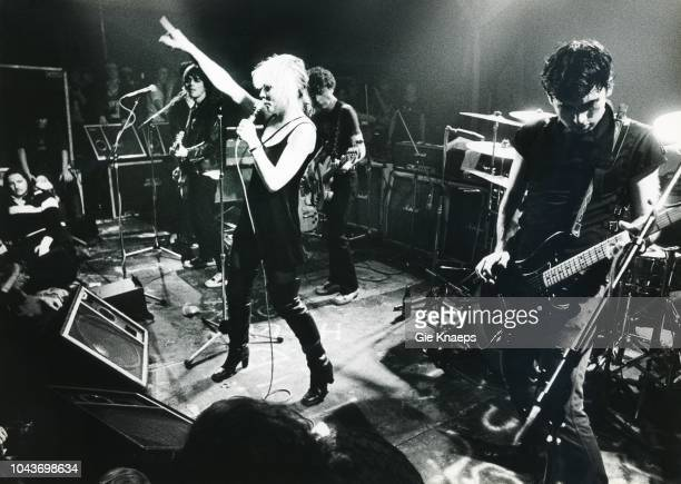 Debbie Harry Chris Stein Gary Valentine Frank Infante Blondie Paradiso Amsterdam Netherlands 19th November 1977