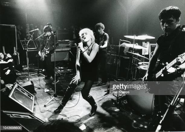 Debbie Harry Chris Stein Gary Valentine Frank Infante Jimmy Destri Blondie Paradiso Amsterdam Netherlands 19th November 1977