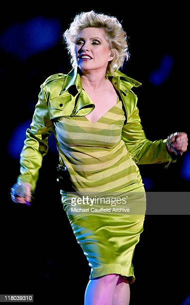 Debbie Harry during 2004 VH1 Divas Benefitting The Save The Music Foundation Show at The MGM Grand in Las Vegas Nevada United States