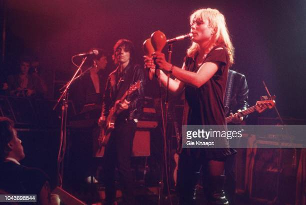 Debbie Harry Frank Infante Jimmy Destri Blondie Paradiso Amsterdam Netherlands 19th November 1977
