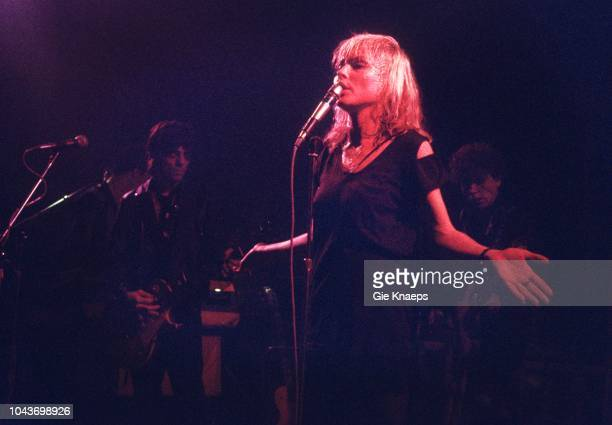 Debbie Harry Gary Valentine Frank Infante Blondie Paradiso Amsterdam Netherlands 19th November 1977