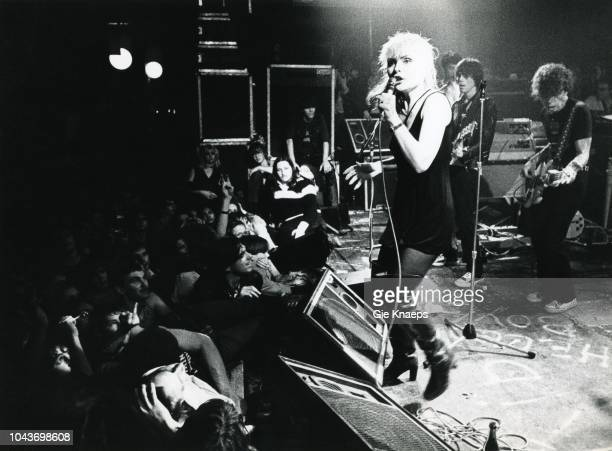Debbie Harry Gary Valentine Frank Infante Jimmy Destri Blondie Paradiso Amsterdam Netherlands 19th November 1977