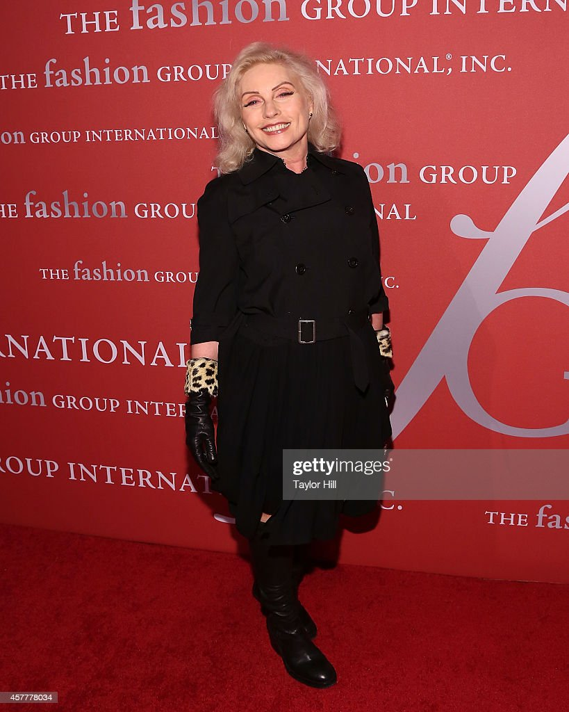 Debbie Harry of Blondie attends Fashion Group International's 31st Annual Night of Stars: The Protagonists at Cipriani Wall Street on October 23, 2014 in New York City.