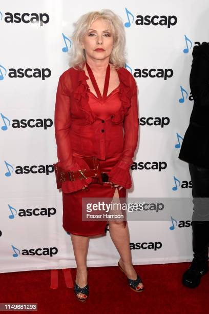 Debbie Harry of Blondie attends the 36th annual ASCAP Pop Music Awards at The Beverly Hilton Hotel on May 16 2019 in Beverly Hills California