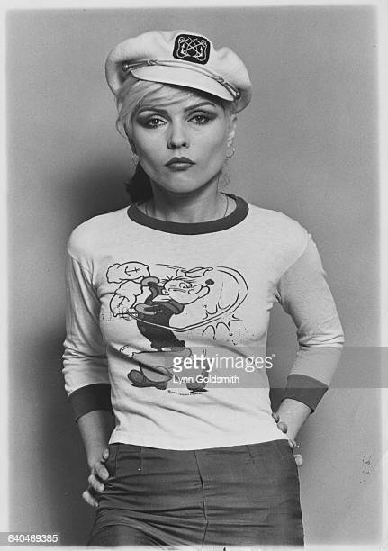 Debbie Harry of Blondie circa 1980