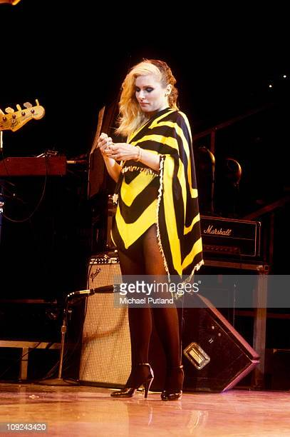 Debbie Harry of Blondie performs on stage Toronto Canada 18th August 1982