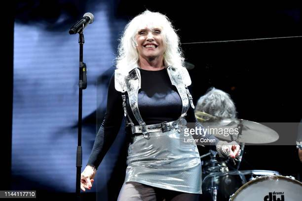 Debbie Harry of Blondie performs onstage during the ASCAP 2019 Pop Music Awards at The Beverly Hilton Hotel on May 16 2019 in Beverly Hills California