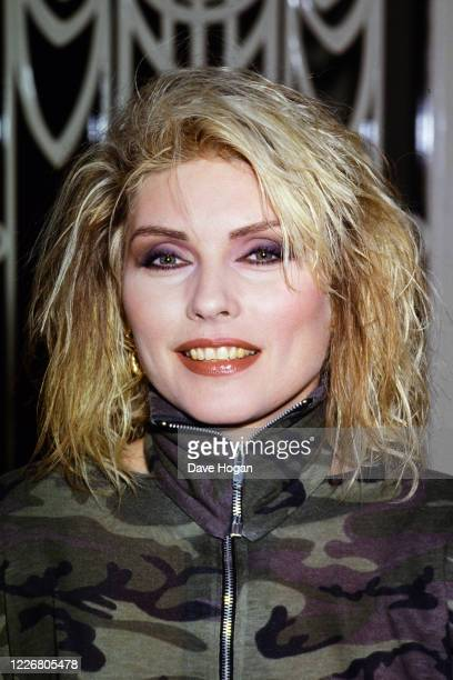 Debbie Harry of Blondie poses for a portrait on January 12th 1980