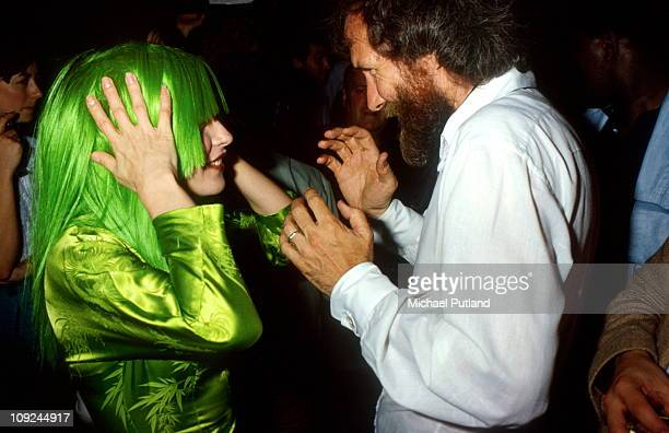 Debbie Harry of Blondie with Jim Henson in New York 1982
