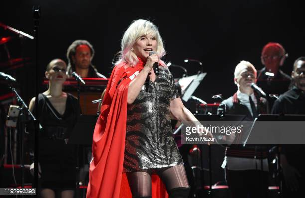 Debbie Harry performs onstage during The Rainforest Fund 30th Anniversary Benefit Concert Presents 'We'll Be Together Again' at Beacon Theatre on...