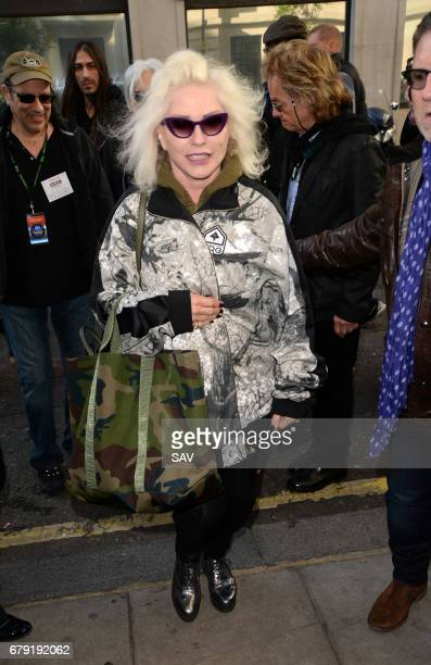 Debbie Harry sighting at BBC Radio 2 on May 5 2017 in London England