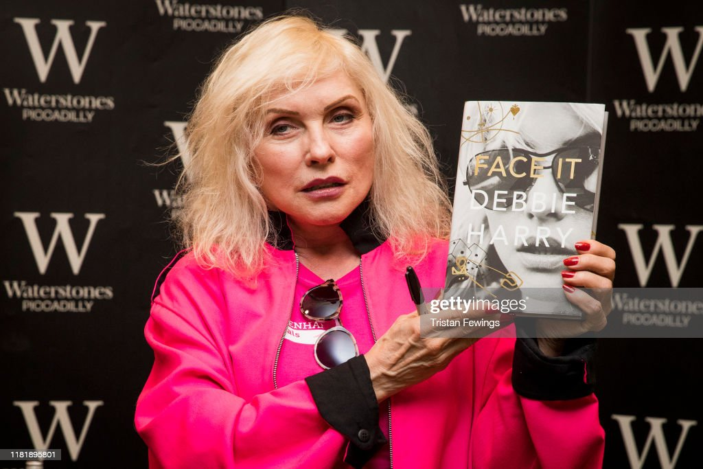 Debbie Harry At Waterstones Piccadilly : News Photo