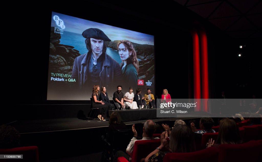 """Poldark"" Series Premiere - Arrivals And Q & A : News Photo"