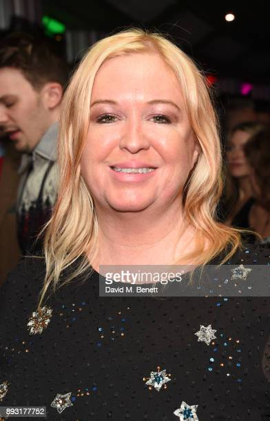 Debbie Issit attends the world premiere press night performance of 'Nativity The Musical' at Eventim Apollo Hammersmith on December 14 2017 in London...