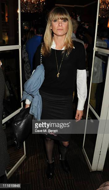 Debbie Lang attends the book launch party for Kelly Hoppen's new book 'Ideas Creating A Home For The Way You Live' at Beach Blanket Babylon on April...