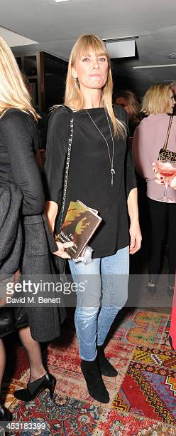 Debbie Leng attends a launch of Fatima Bhutto's debut novel The Shadow Of The Crescent Moon at the Belgraves Hotel on December 2 2013 in London...