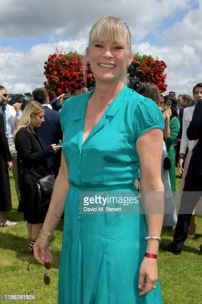 Debbie Leng attends The Cartier Queen's Cup Polo Final 2019 on June 16 2019 in Windsor England