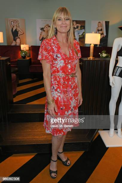 Debbie Leng attends Tigerlily Taylor's all girls Bluebella lingerie party at Laylow on June 28 2018 in London England