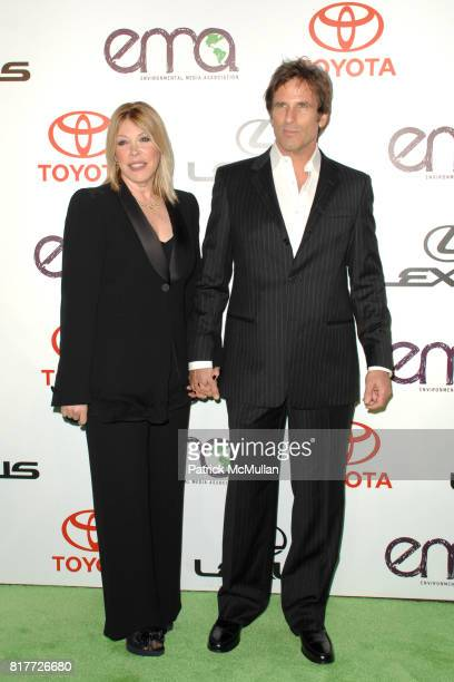 Debbie Levin and Hart Bochner attend 2010 Environmental Media Association Awards at Warner Bros Studios on October 16 2010 in Burbank California