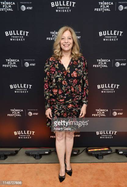 Debbie Lieberg attends the Plus One Premiere After Party at the Bulleit 3D printed Frontier Lounge during Tribeca Film Festival on April 28 2019 in...