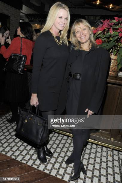 Debbie Loeffler and Alison Becker attend DEBBIE BANCROFT Hosts Luncheon Honoring MICHELLE PAIGE PATTERSON at 99 PARK AVENUE TAVERN on December 13...