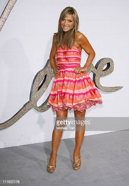 Debbie Matenopoulos arrives to Chloe Los Angeles Boutique Opening Party held at Milk Studios on April 23 2009 in Los Angeles California