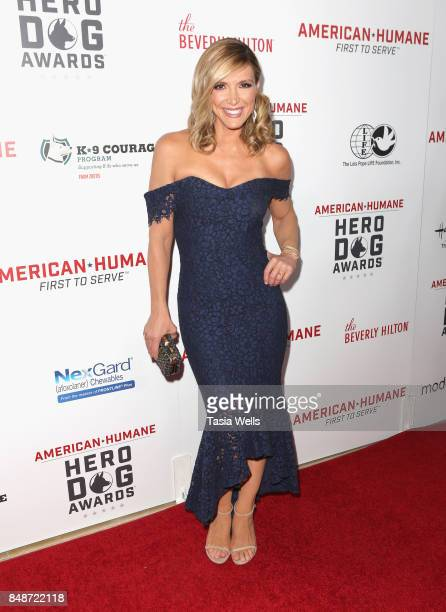 Debbie Matenopoulos at the 7th Annual American Humane Association Hero Dog Awards at The Beverly Hilton Hotel on September 16 2017 in Beverly Hills...