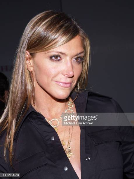 Debbie Matenopoulos backstage at Shay Todd Spring 2007